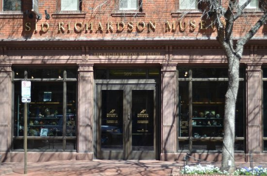 Entrance to the Sid Richardson Museum