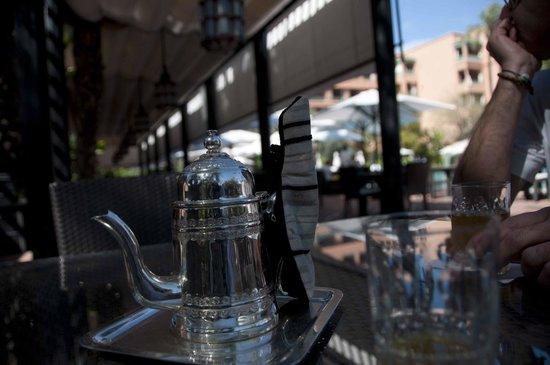 La Mamounia Marrakech: Bar a bordo piscina