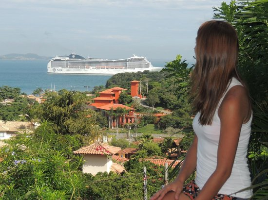 Hotel Pousada e Spa Villa Mercedes: Vista de la Habitación