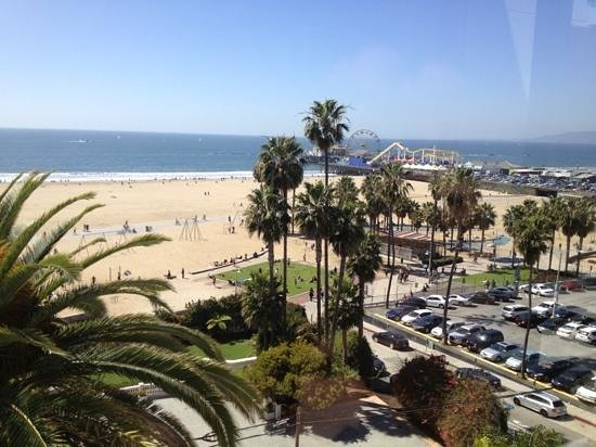 Loews Santa Monica Beach Hotel: view from the room