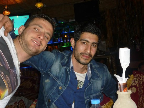 Mitani Cafe & FUN PUB: Bob Marley and Antonio Banderas ;-)