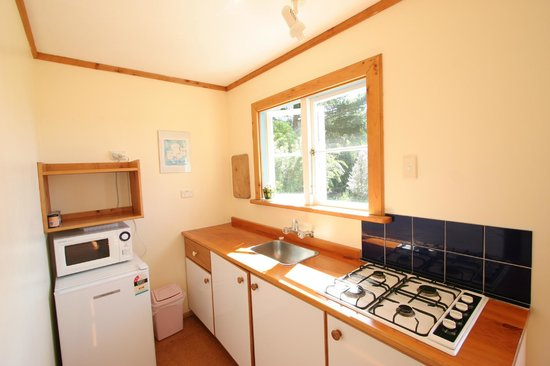 The Sandcastle: Each cottage has its own kitchen.