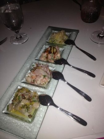 The Restaurant at Mondrian : delicous starters!!