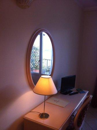 Hotel La Perla: camera