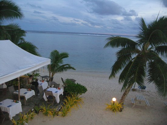 Moana Sands Beachfront Hotel & Villas: The view from my balcony