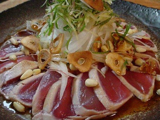 The Tatami Room: Tuna Tataki