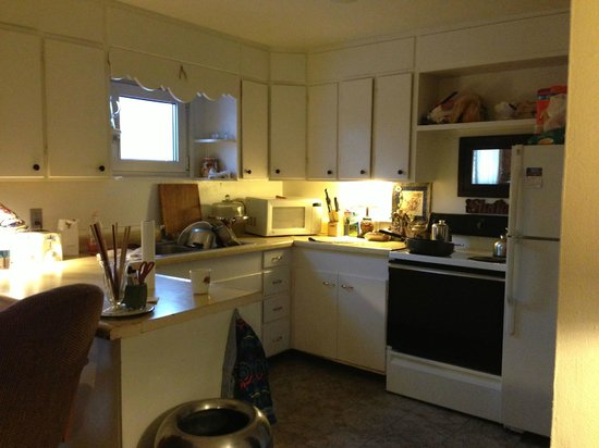 Billie's Backpackers Hostel: The kitchen