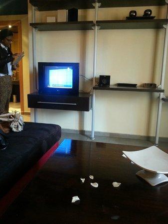 Dellarosa Hotel Suites & Spa: Living Room Area