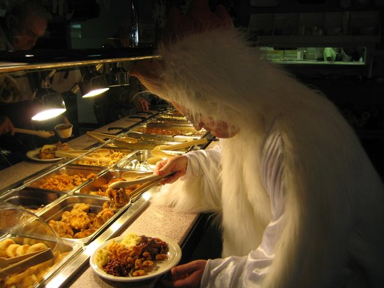 Pam's Restaurant: Halloween at Pam's...Chickens eat free Chicken