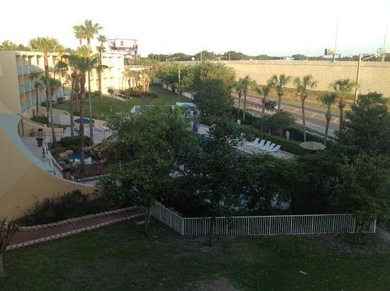 Ramada Orlando Downtown: view from balcony