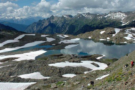 Selkirk Mountain Experience Lodge: Durrand Glacier: Breathtaking scenery