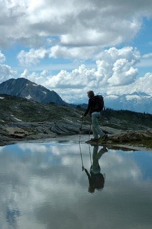 Selkirk Mountain Experience Lodge: Durrand Glacier: Great hiking