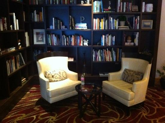 Marriott Portland City Center: new 'library like' lobby