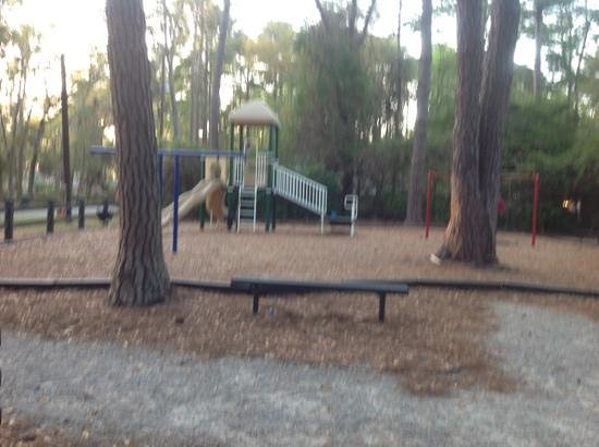Henry C. Chambers Waterfront Park: lenora park  is a small quaint fenced-in park for children in Beaufort, SC