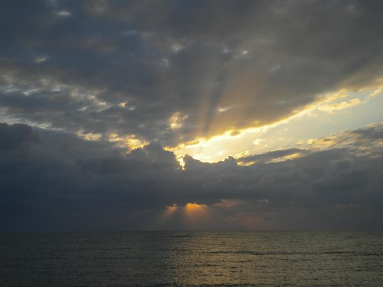 Sabal Beach: one of the gorgeous sunrises