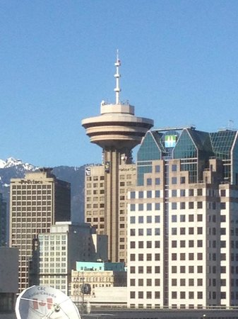 Hampton Inn & Suites Downtown Vancouver: from roof top
