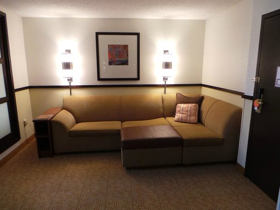 Enjoyable Sectional Pullout Sofa Picture Of Hyatt Place San Antonio Ibusinesslaw Wood Chair Design Ideas Ibusinesslaworg