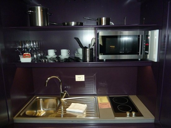 San Firenze Suites & Spa: appliances