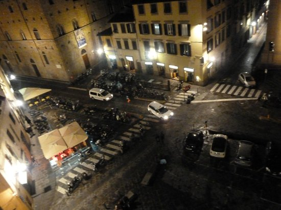 San Firenze Suites & Spa: view from room window