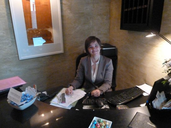San Firenze Suites & Spa: greetings with a smile