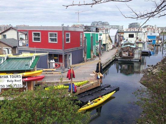 The Fish Store at Fisherman's Wharf: View of Fisherman Wharf