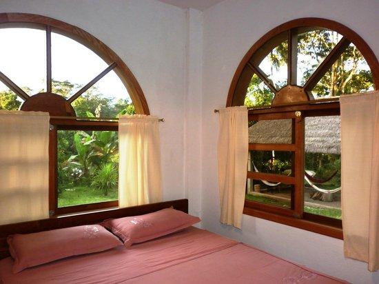 Banana Lodge : Habitación matrimonial