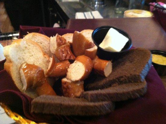 Checkers Old Munchen: Pretzels!!!