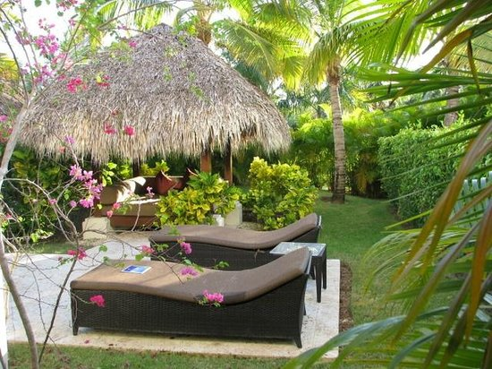 Beach picture of the reserve at paradisus palma real Master bedroom with private garden