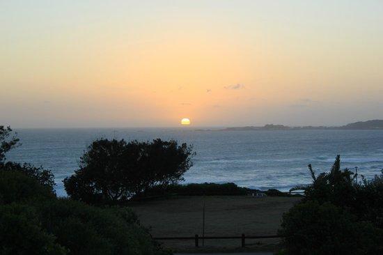 Brenton on Sea Cottages : Sunset