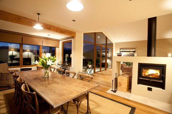 Wanaka Haven: Breakfast area