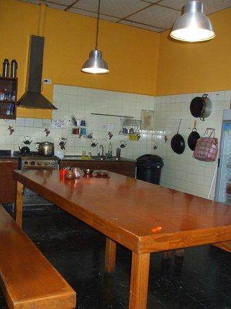 Hostal Prisamata: La cocina