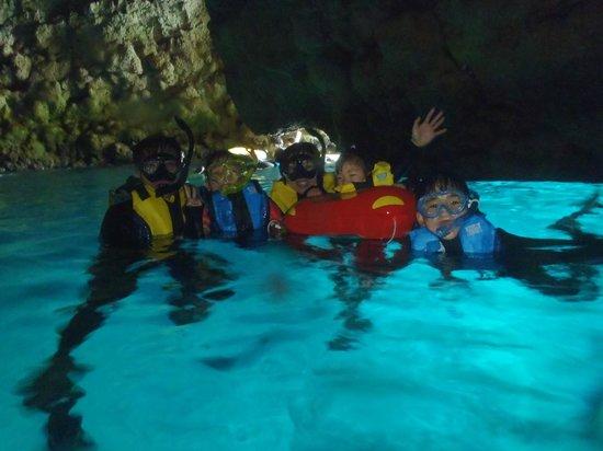 Marine Club Gigi : 家族旅行