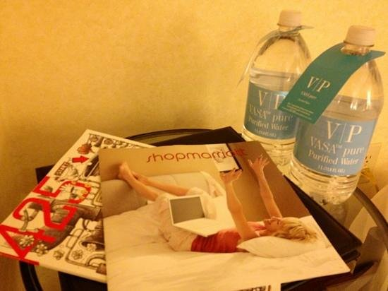 Seattle Marriott Redmond: $3.50 per bottled water (1L)