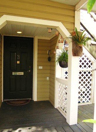 Maison en Ville: Our Charming Entrance To Suite #3 The Cypress : )