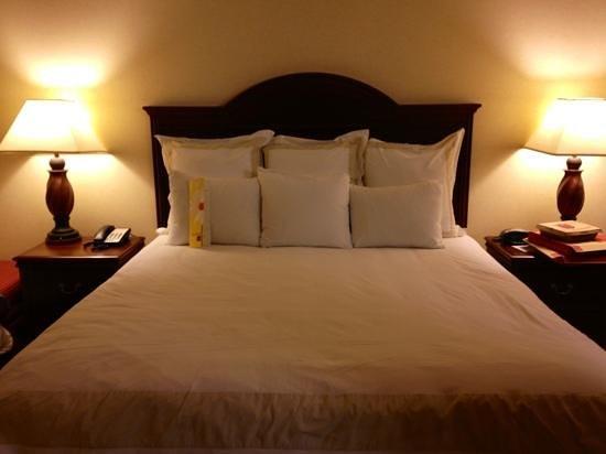 Seattle Marriott Redmond: king bed