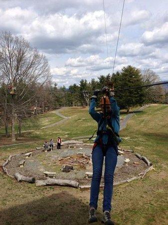 Asheville Zipline Canopy Adventures : Zipline in Asheville