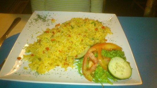 Pizzeria y Restaurante DiKary : arroz con pollo