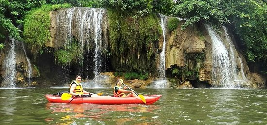 Sai yok yai Waterfall - Picture of Ikankayak, Kanchanaburi ...