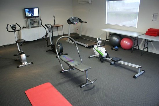 Pukekura Motor Lodge: Well Equipped Air Conditioned Onsite Gym