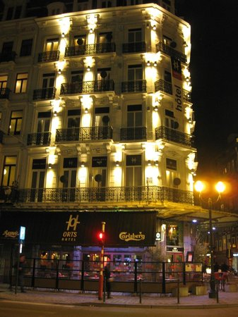 Hotel Orts at Night