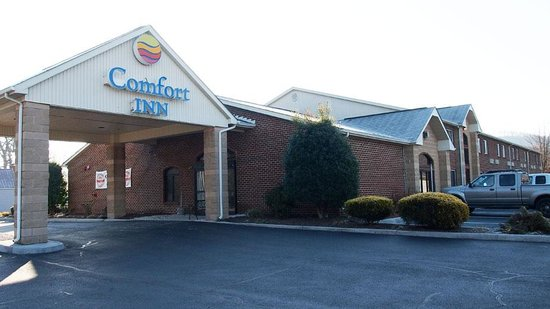 Comfort Inn: Found this to be a good property along I-81