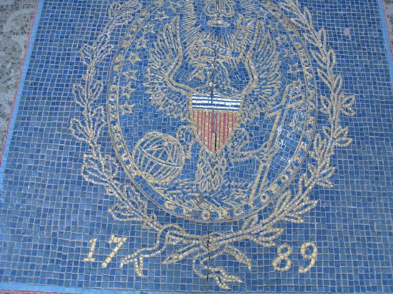 Georgetown University : Georgetown Seal mosaic