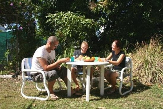 Orchid Guest House: Relax in Garden