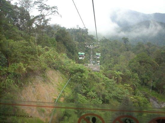 Tune Hotel Kuala Lumpur: ride to genting highlnds
