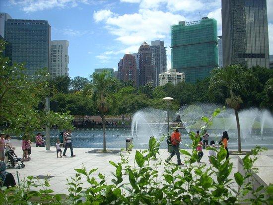 Tune Hotel Kuala Lumpur: park besice KL towers