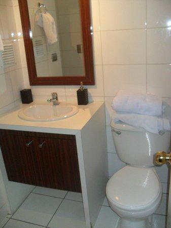 Santiago Apartamentos Centro: Banheiro