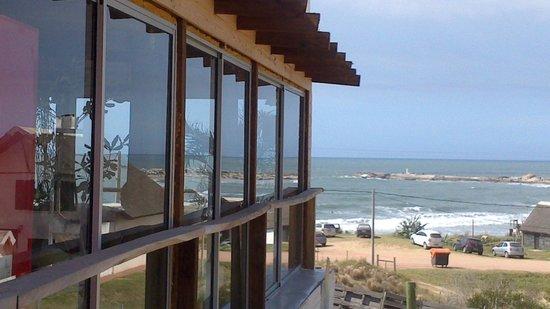 Hostel La Casa de las Boyas: Vista desde el desayuno