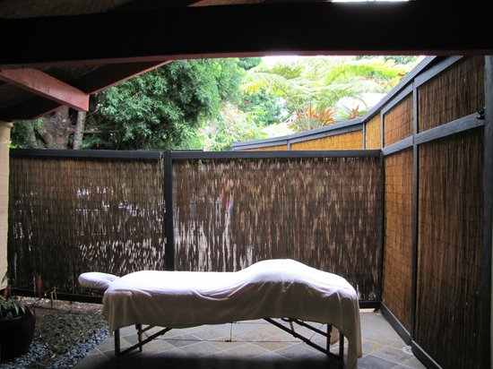 Kealakekua, Hawaï : Massage in the semi open air is the best