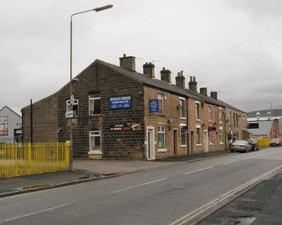 Glossop, UK: Woolley Bridge Working Mens Club, known to the locals as 'The Poco'