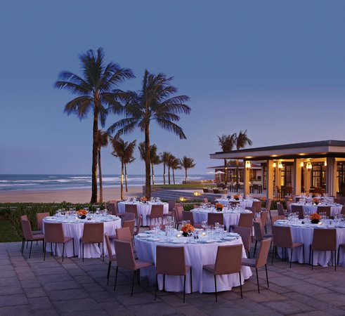 Hyatt Regency Danang Resort & Spa : Outdoor Event Function at Beach House's Garden